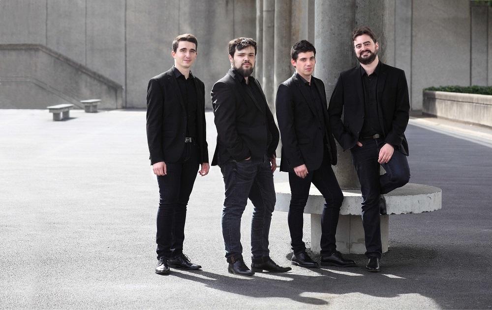 Photo du Quatuor SlyMe